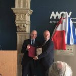 Consul General of Greece in Vancouver Mr Thanos Ioannou and Mr Mauro Vescera, CEO Museum of Vancouver